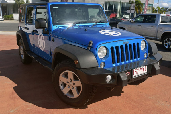 2015 Jeep Wrangler JK MY2015 Unlimited Softtop Image 2