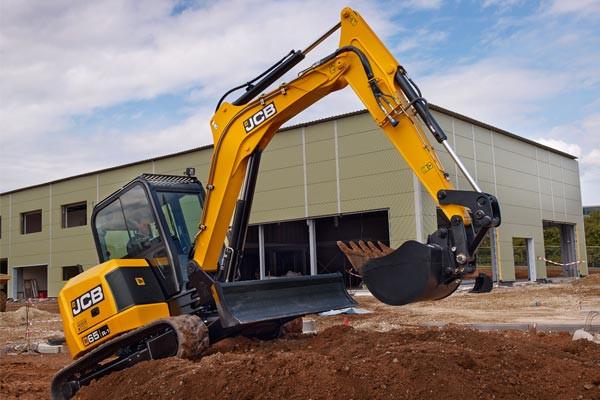 2021 JCB 65R-1 Excavator (No Series) 65R-1 Excavator Image 4