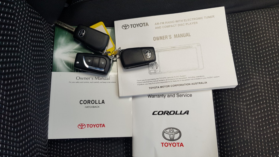 2015 Toyota Corolla ZRE182R Ascent Sport Hatch Image 24
