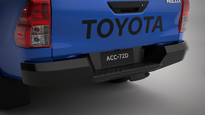 Heavy Duty Rear Bumper