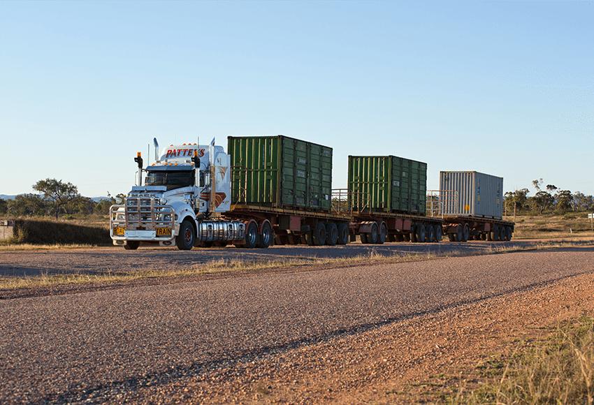 Super-Liner Container Transport
