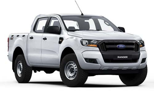 2017 MY18 Ford Ranger PX MkII 4x4 XL Double Cab Pickup 2.2L Utility