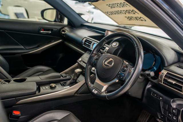 2016 Lexus Is GSE31R 350 F Sport Sedan Image 19