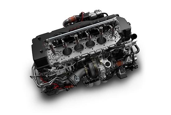 11 Litre Quon Fuel efficient, powerful, clean 'GH11' engine