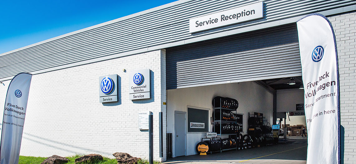 Five Dock Volkswagen Service Department