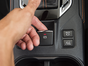 Easy to use parking brake Image