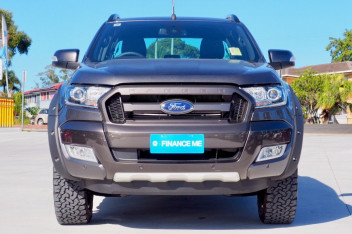 2018 Ford Ranger PX MkII Black Edition Ute