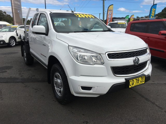 2014 Holden Colorado RG Turbo LS 4x4 s/cab chas
