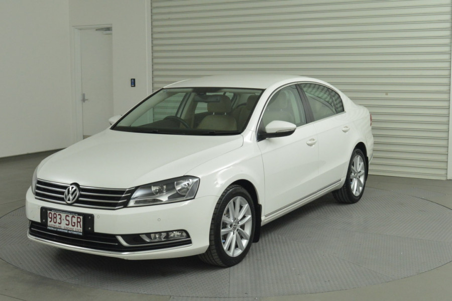 2012 MY12.5 Volkswagen Passat Type 3C MY12.5 125TDI Sedan Mobile Image 1