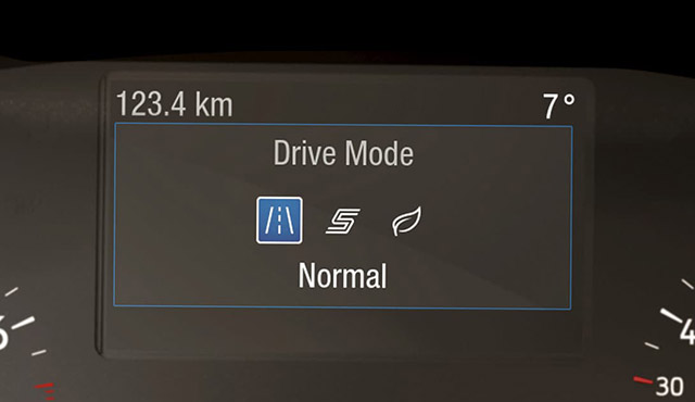 Focus Driving dynamics tailored to you