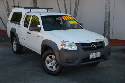 2009 Mazda BT-50 UN DX+ Cab chassis Image 2