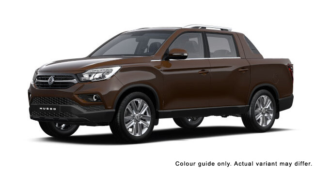 2019 MY18 SsangYong Musso Q200 ELX Ute
