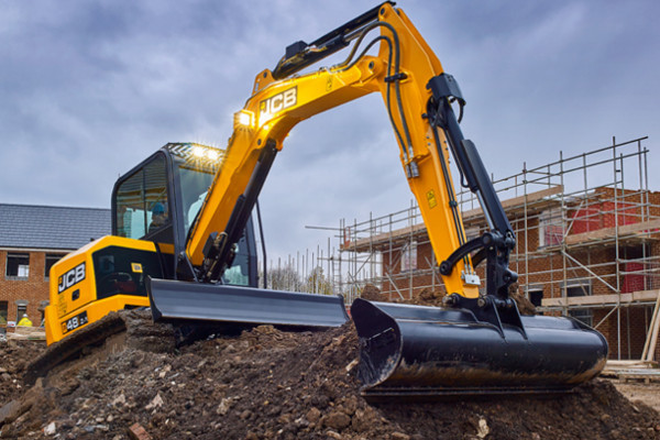 2021 JCB 48Z-1 Excavator (No Series) 48Z-1 Excavator Image 4