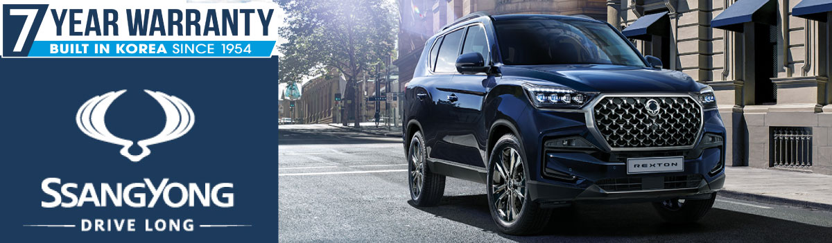 SSANGYONG | REXTON 7 SEATERS IN STOCK AT WISES RD