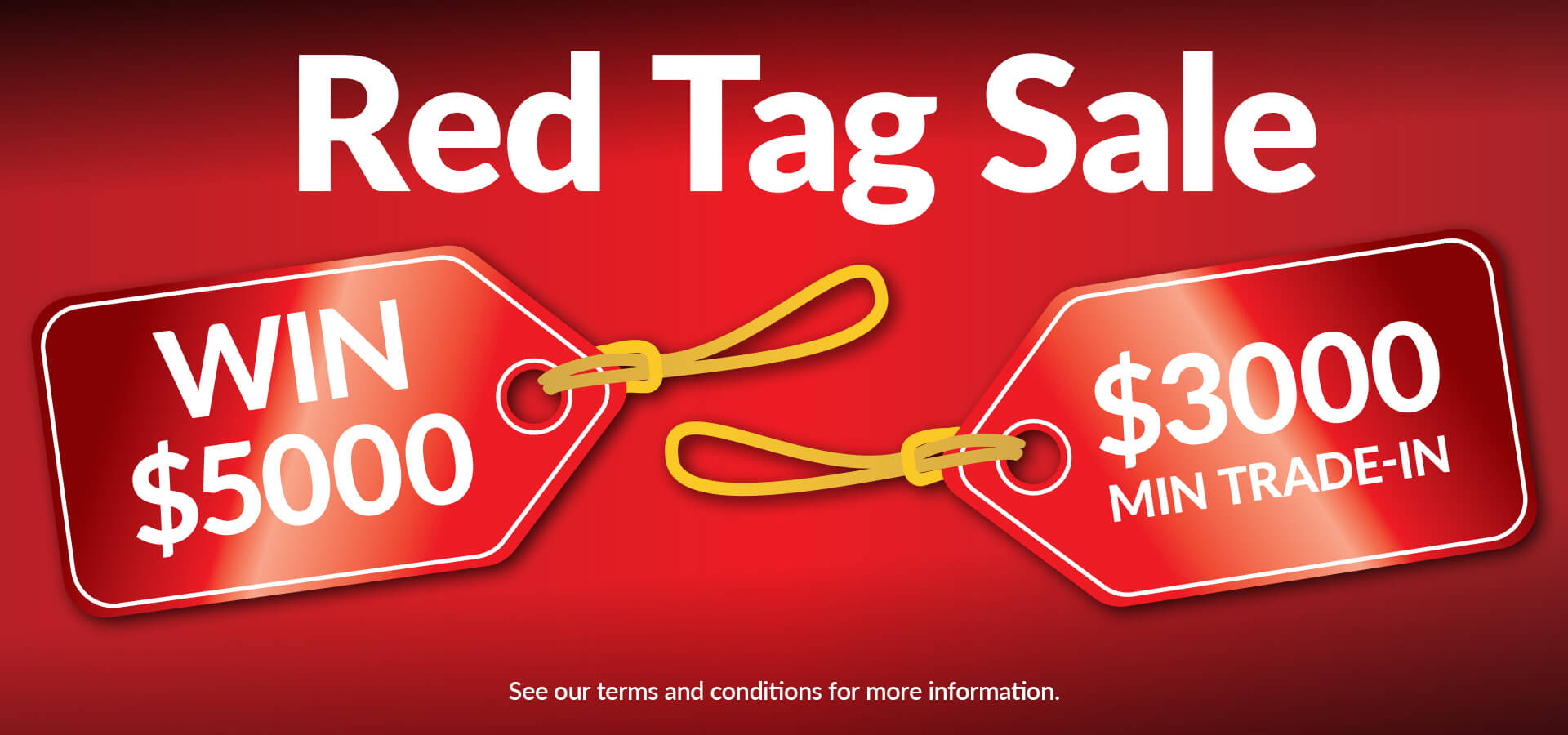 Albany Automotive Group Red Tag Sale