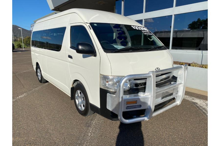 2013 MY12 Toyota Hiace KDH223R Turbo Commuter Bus