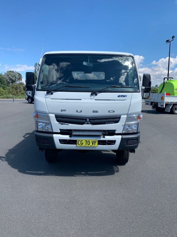 2015 Fuso Canter 4X4 Cab chassis