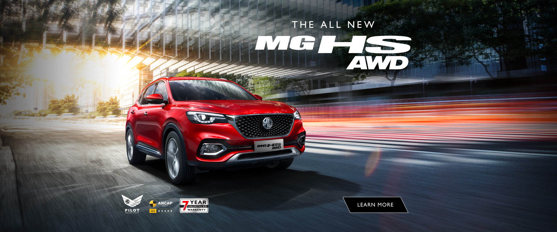 MG HS All Wheel Drive SUV