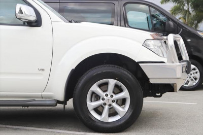 2013 Nissan Navara D40 Series 5 ST-X 550 Utility Image 5
