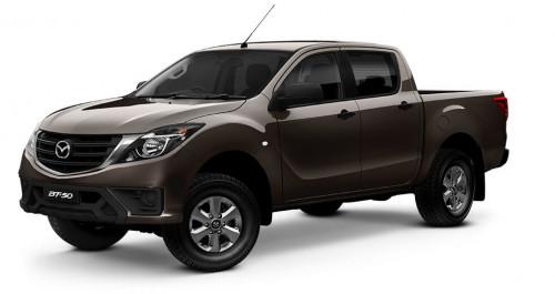 2019 MYch Mazda BT-50 UR 4x4 3.2L Dual Cab Pickup XT Ute