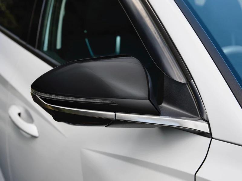 Door mirror caps - gloss black (set of 2)