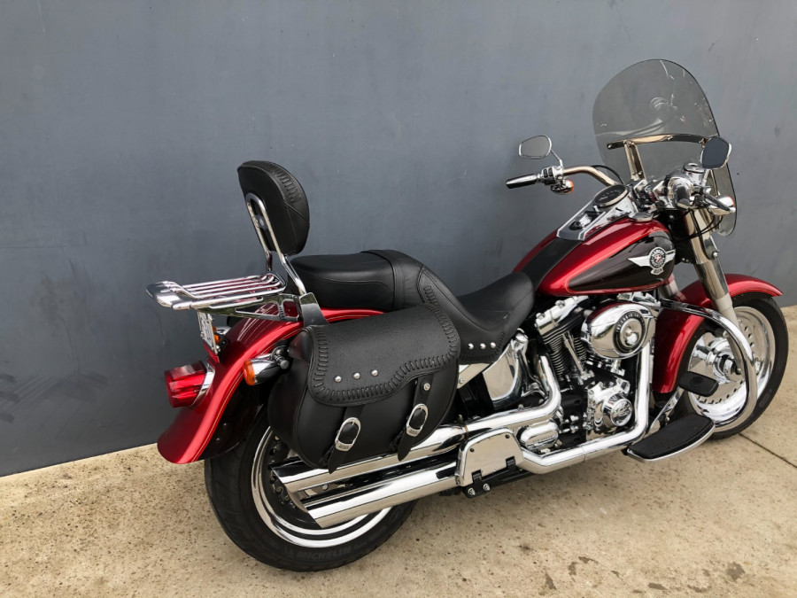 2012 Harley Davidson Fatboy FLSTE1 Motorcycle Image 18