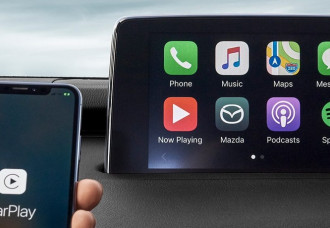 MAZDA OFFERING UPGRADES TO APPLE CARPLAY AND ANDROID AUTO TECHNOLOGY