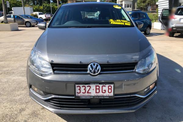 2017 Volkswagen Polo 6R  81TSI Comfrtline Hatchback