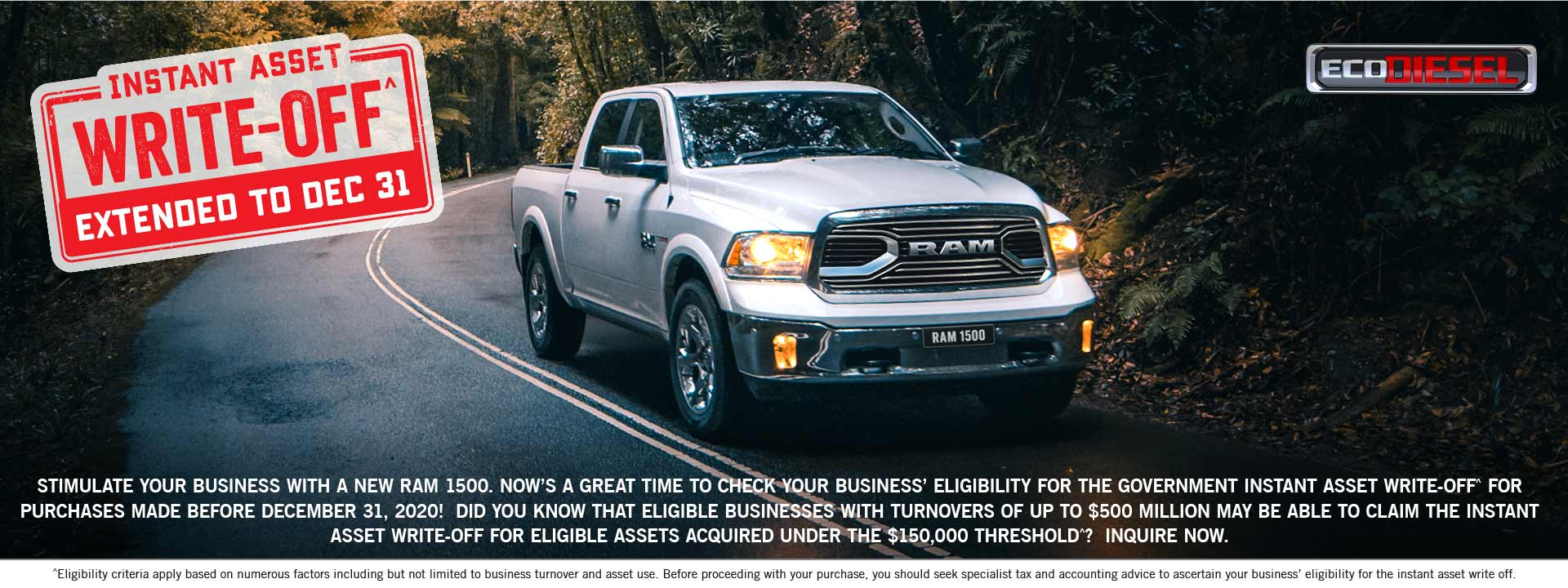 Gold Coast Ram Eco Diesel