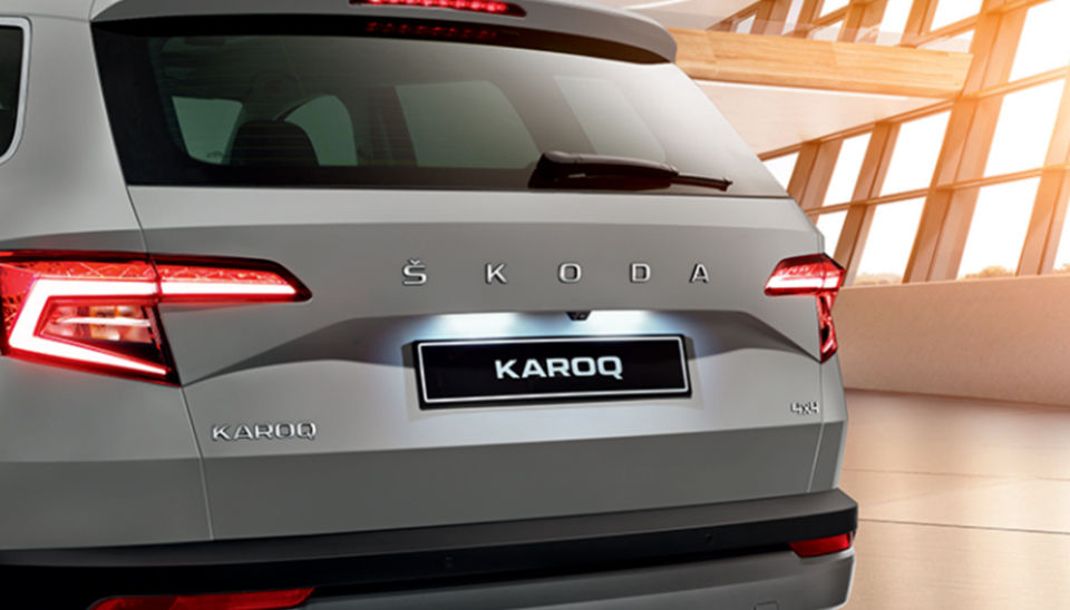 Karoq Rear View Camera
