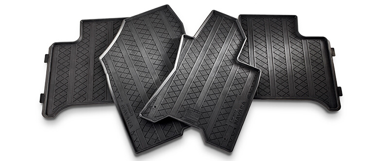 Rubber Floor Mats (Rear)