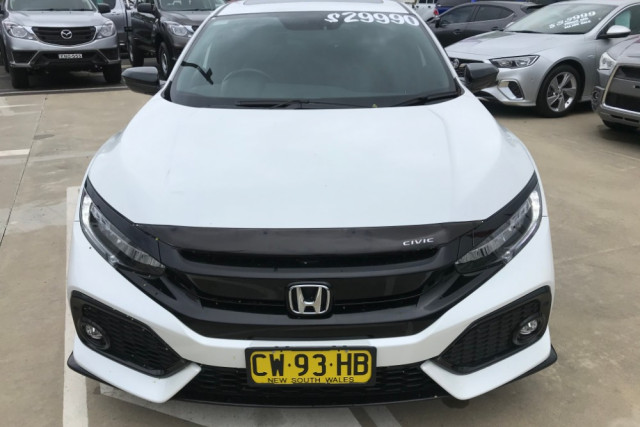 2018 Honda Civic 10th Gen Turbo RS Sedan Image 2