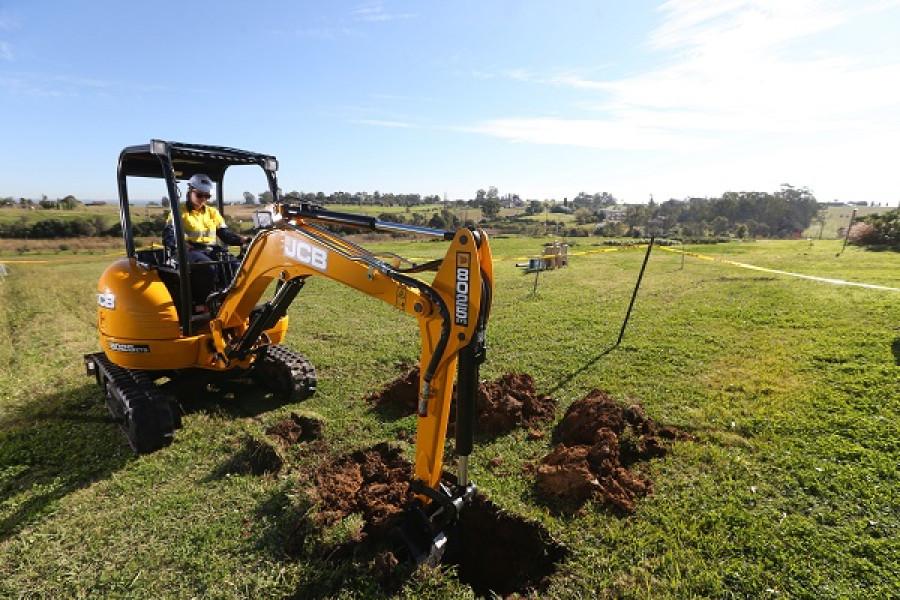 2021 JCB 8025 ZTS Mini Excavator (No Series)