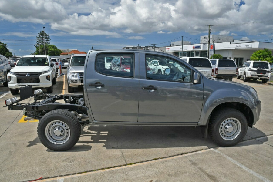 2019 Isuzu UTE D-MAX SX Crew Cab Chassis High-Ride 4x2 Cab chassis