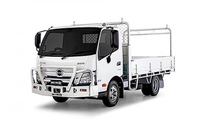 New Hino 300 Series Built to Go