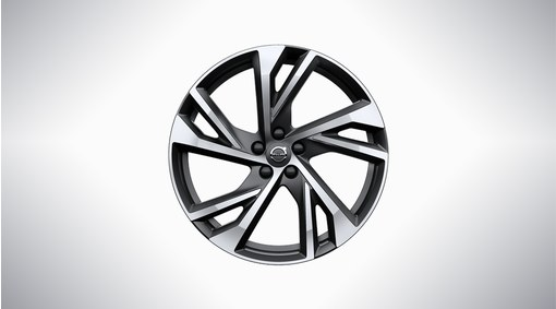 "20"" 5-Double Spoke Matt Black Diamond Cut - 920"