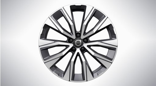 "19"" 5-V Spoke Graphite Diamond Cut - 1168"