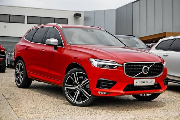 2017 Volvo XC60 (No Series) MY18 T6 R-Design Suv