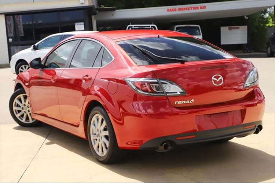 2012 Mazda 6 GH Series 2 MY12 Touring Hatchback