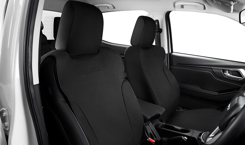 Canvas Seat Covers Front