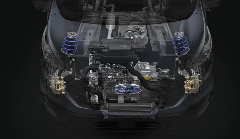 Transit Cab Chassis Advanced 2.0L EcoBlue Engine