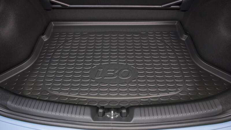 Rubber cargo liner.