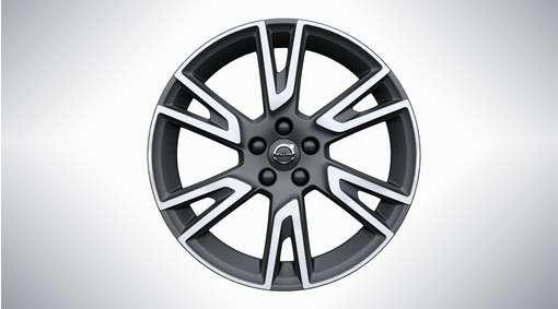 "19"" 6-Double Spoke Matt Tech Black Diamond Cut Alloy Wheel - 151"