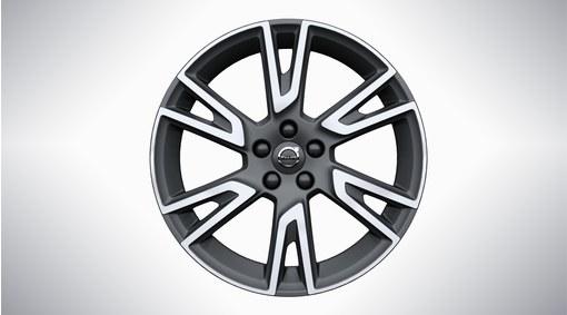 """19"""" 6-Double Spoke Matt Tech Black Diamond Cut Alloy Wheel - 151"""