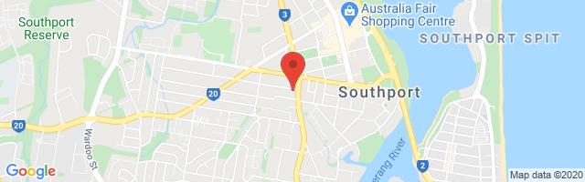 Gold Coast MG - Southport Map