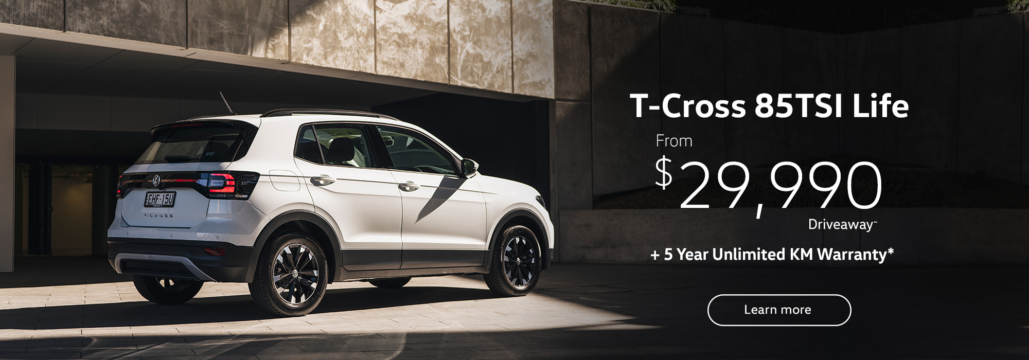 T-Cross from $29,990 Drive Away