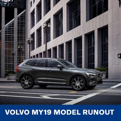 Volvo MY19 Model Runout