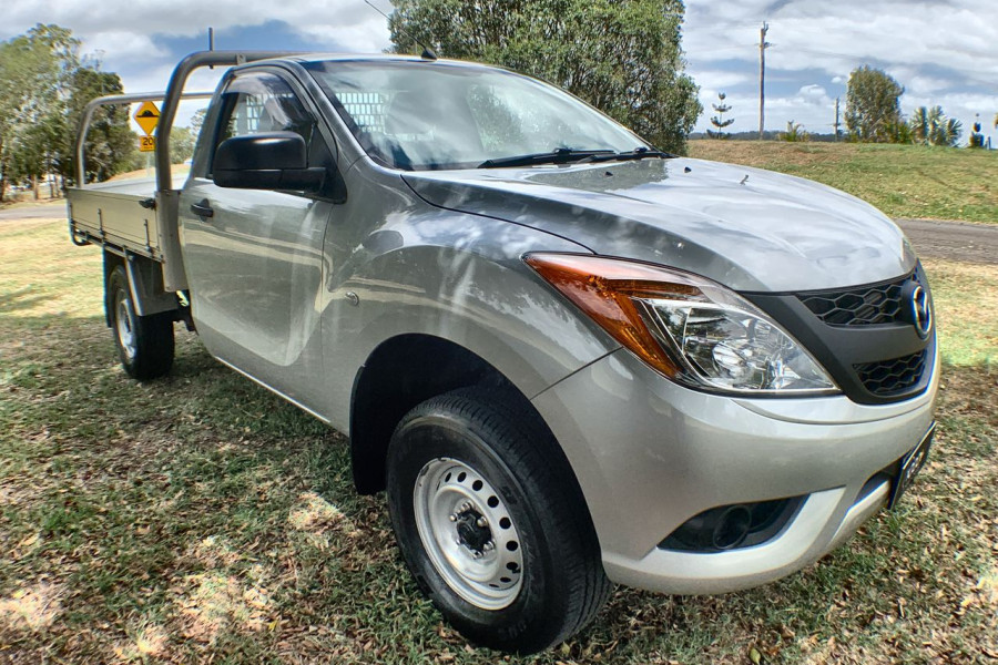 2014 Mazda BT-50 UP0YF1 XT Cab chassis