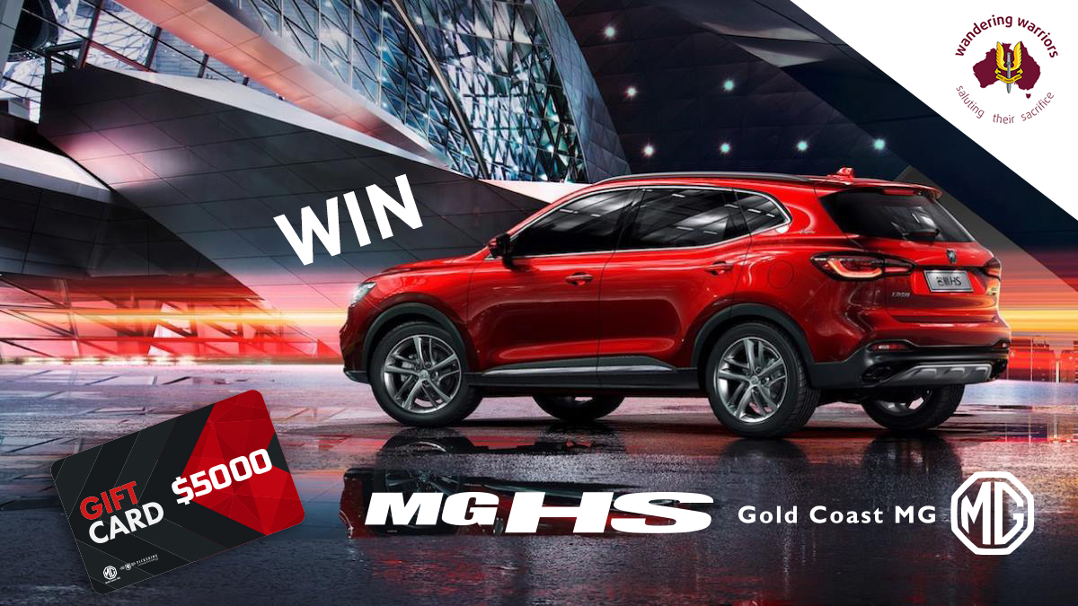 Want to win an MG HS? Enter our Wandering Warriors Raffle.