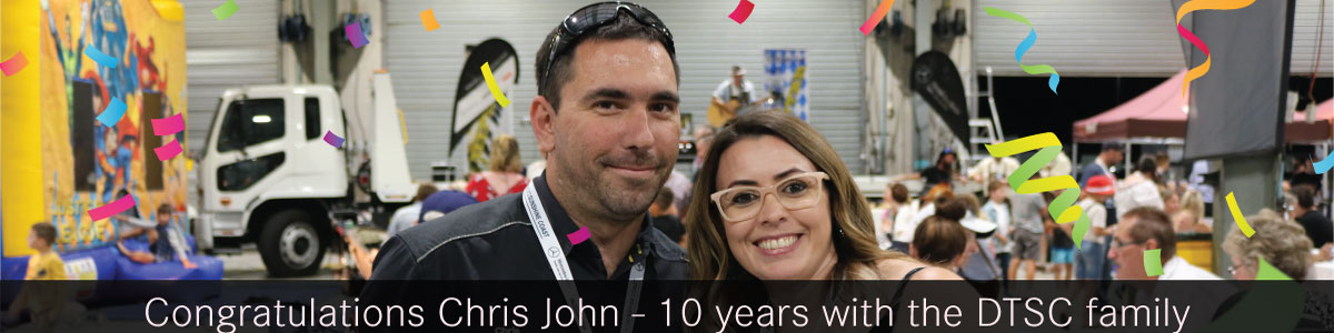 CHRIS JOHN'S 10 YR CELEBRATION